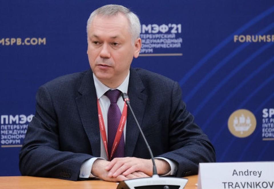 Губернатор подвел итог работы на Петербургском экономическом форуме. Фото: правительство НСО
