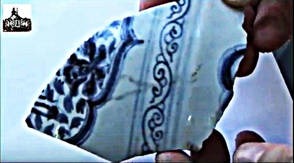 Элемент древней китайский вазы. Фото: азовский музей-заповедник.