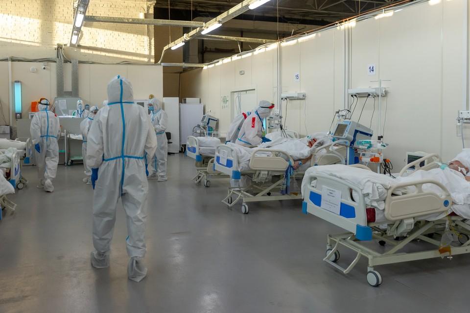 В больницах сейчас лечат 944 инфицированных пациента