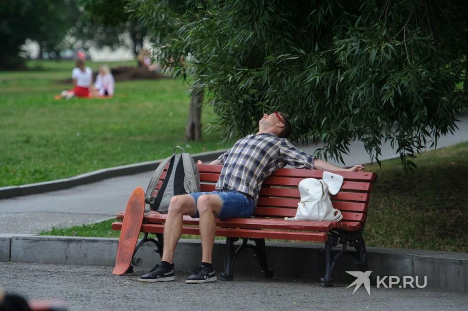 На неделю в Екатеринбург придет умеренная летняя погода