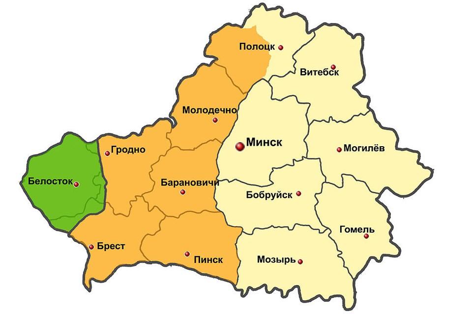 До 1939 года западная часть Беларуси входила в состав Польши