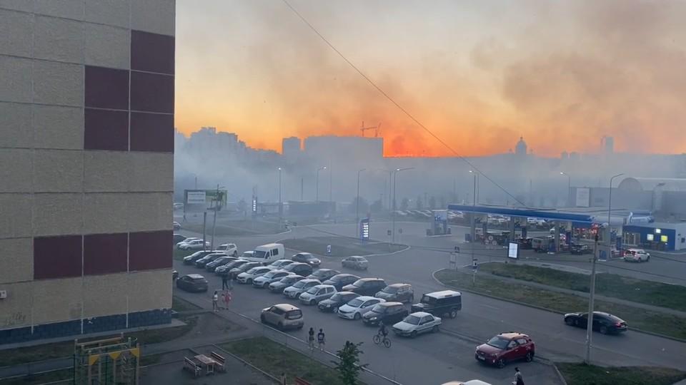 Визуально в Челябинске настал апокалипсис. Фото: Андрей Фаткулин / vk.com
