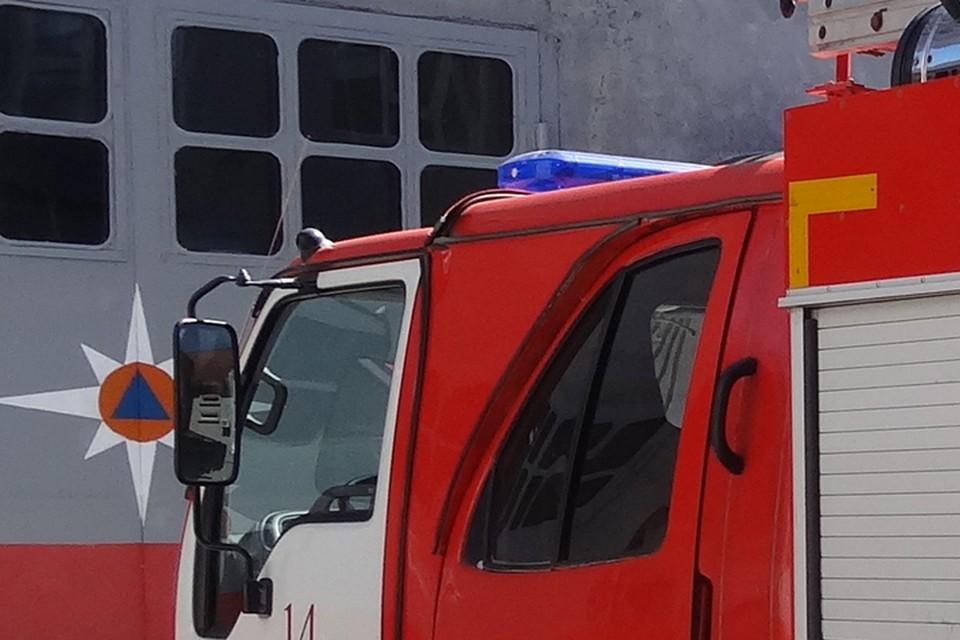 В Тобольске в крупном пожаре погиб пенсионер.