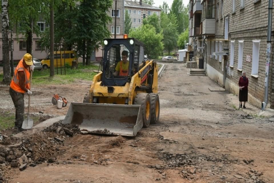 На благоустройство дворов Кирова в 2021 году выделено около 70 млн рублей. Фото: admkirov.ru