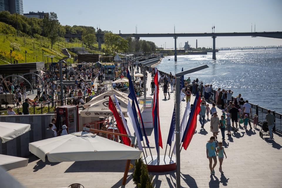 Главные гуляния в День города пройдут на пермской набережной. И погода обещает быть прекрасной.