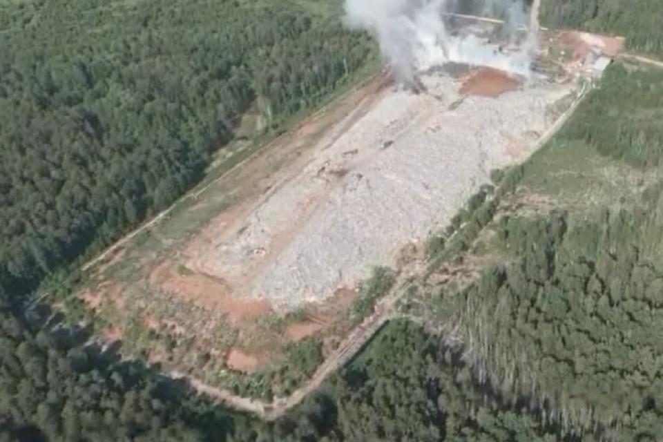 Площадь ликвидированного возгорания составила 2000 квадратных метров. Фото: kirovreg.ru