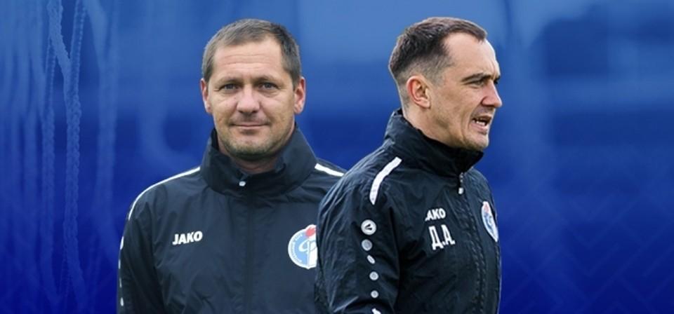 Дмитрий Пятибратов (слева) и Александр Дутов остаются в команде.