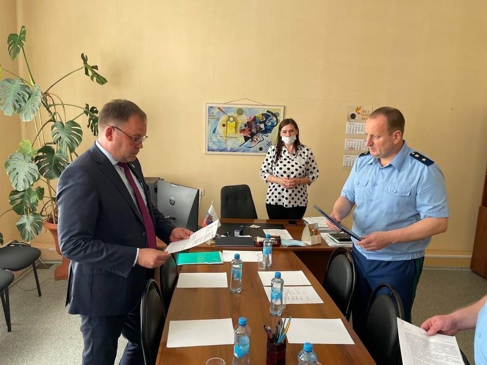 Новый прокурор Кузбасса подал в суд на мэрию Кемерова. Фото: Прокуратуры Кемеровской области.