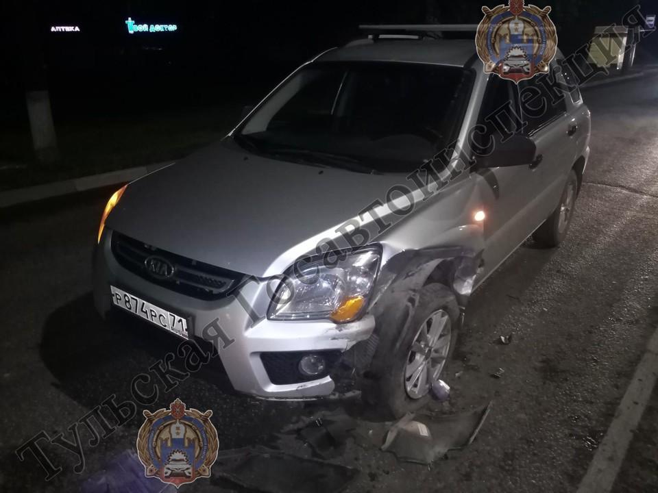 В Туле в лобовом столкновении двух иномарок пострадал 5-летний мальчик