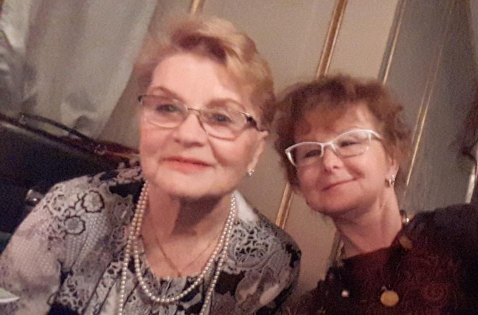 Римма Волкова (слева) и ее пострадавшая дочь Анна