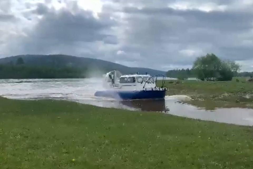 Уровень воды в реке Ие в Тулуне превысил критическую отметку