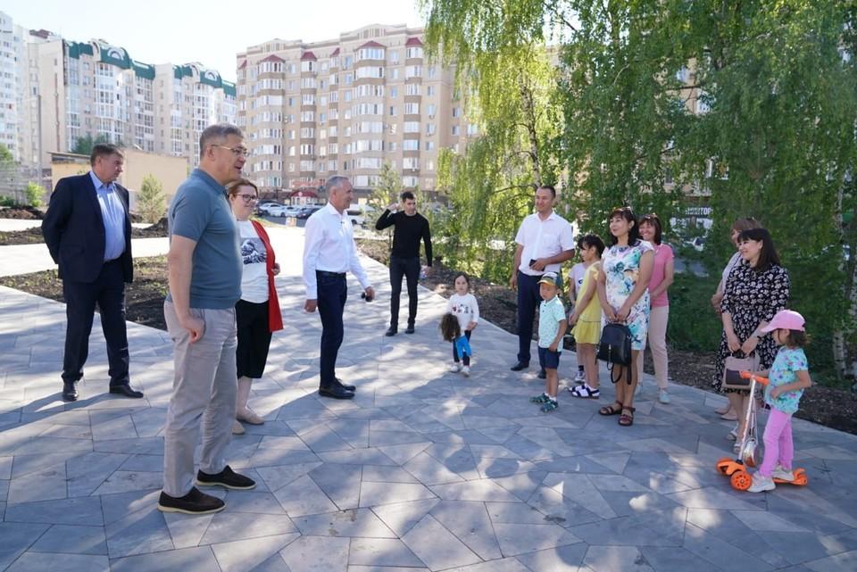 Речь идет о парке «Южный» в Кировском районе Уфы. Глава отметил, что жители очень просили и очень ждут.