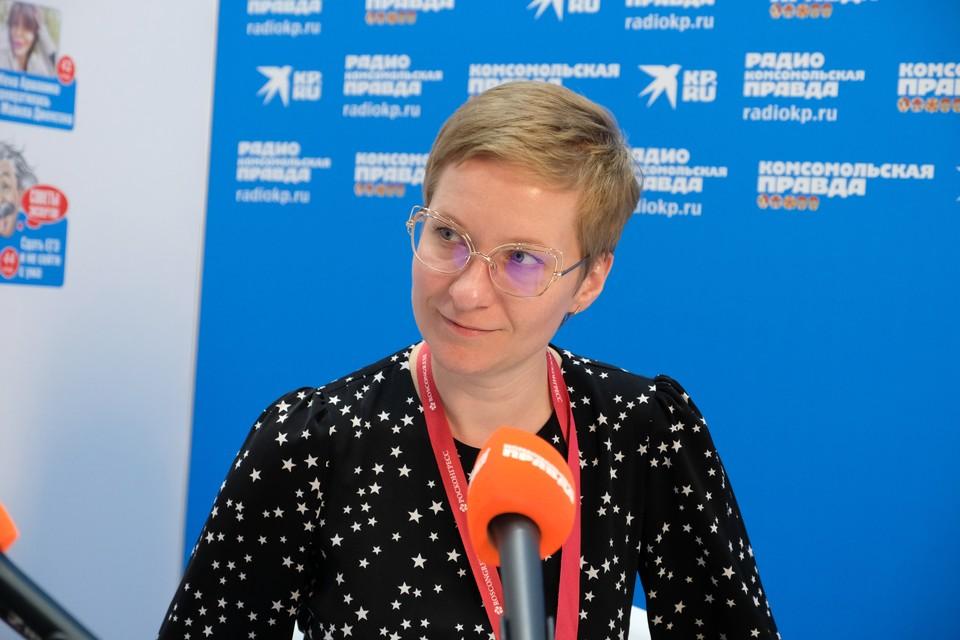 Нина Яныкина, ректор Университета 2035. Автор фото: Василий ВОСТРУХИН