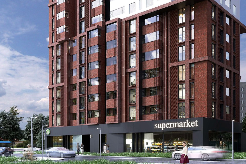 Одним из ключевых принципов программы реновации является создание уникальных по своему облику кварталов. Фото представлены Москомархитектурой
