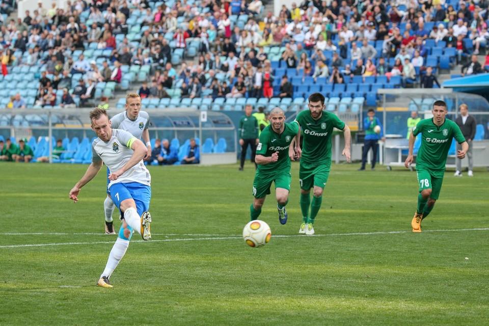 С «Сочи» и «Ротором» Песегов выходил в Премьер-лигу. Фото: ФК «Сочи».