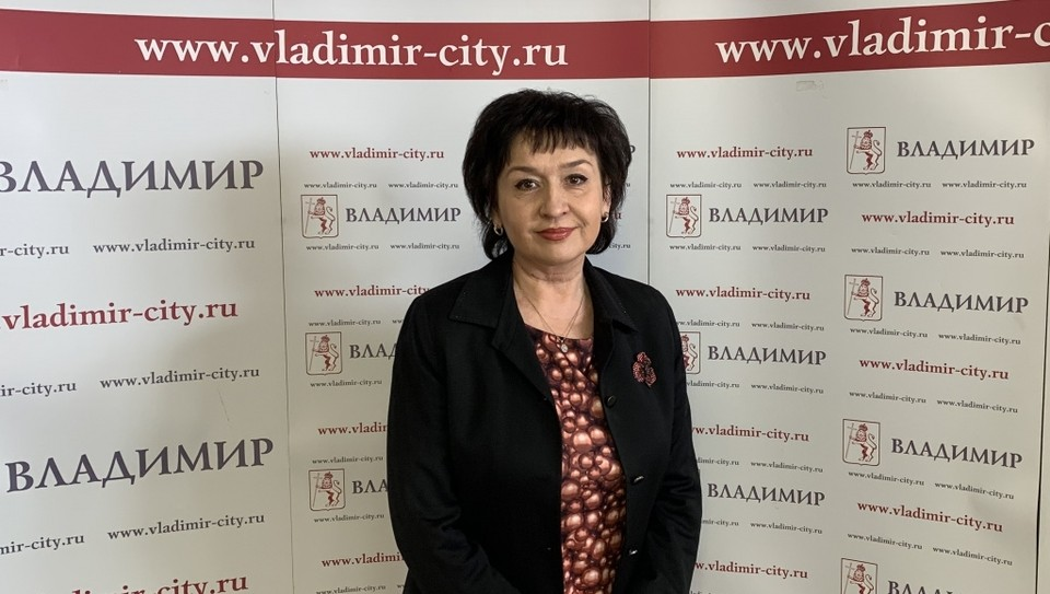 Елена Овчинникова. Фото администрации города Владимира