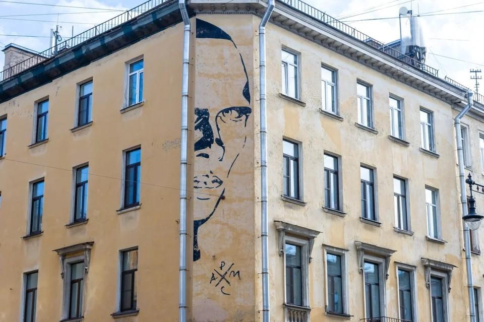 В Петербурге состоялось очередное заседание по вопросу уничтожения граффити с Даниилом Хармсом.