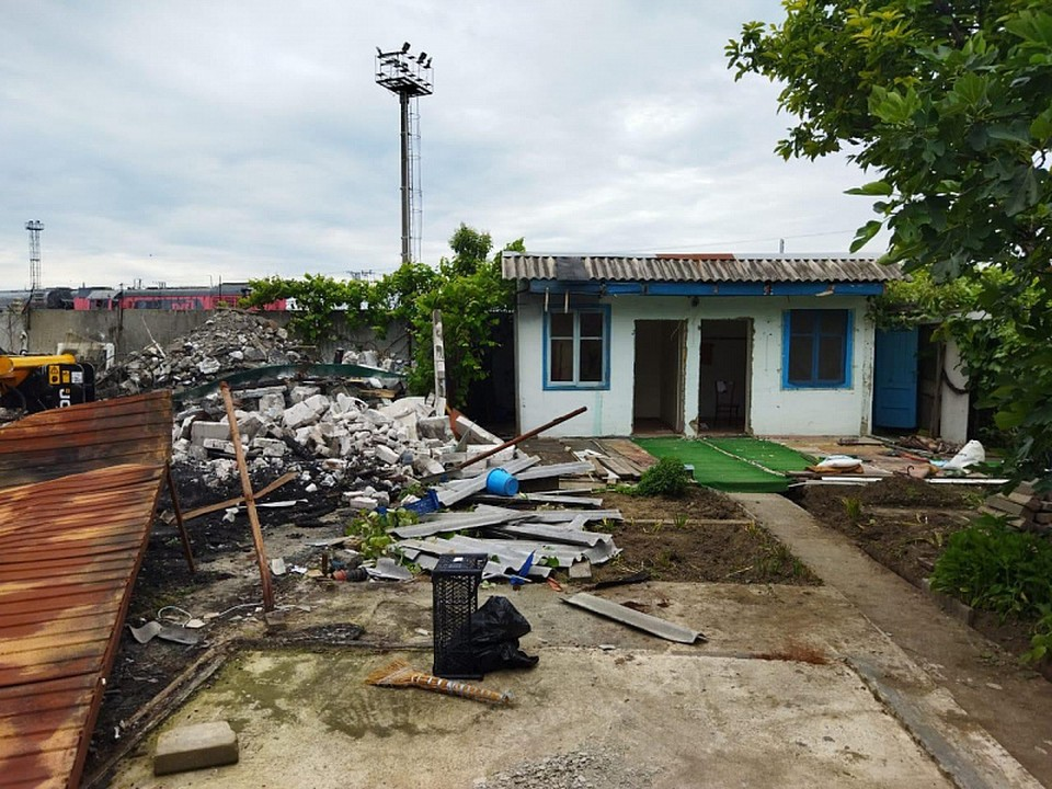 Место трагедии. Фото пресс-службы администрации Сочи