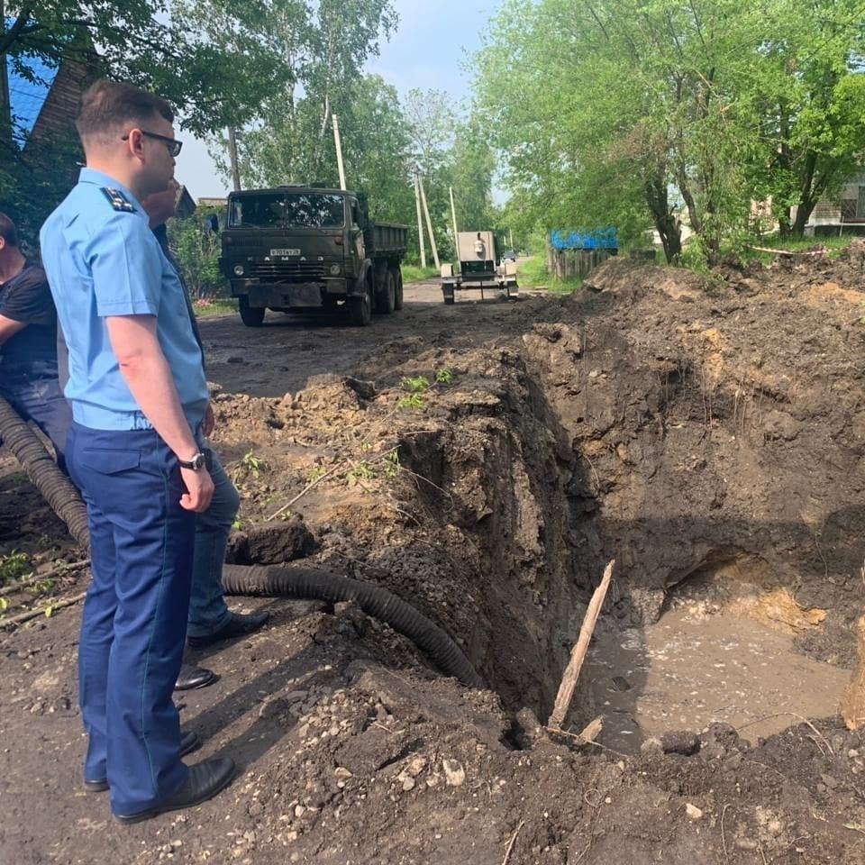 На место происшествия выехал прокурор города Фото: Прокуратура Амурской области