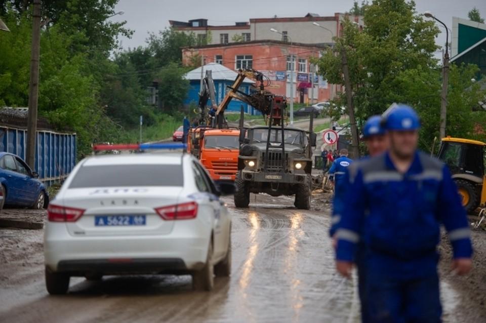 Гараж на улице Ново-Киевская в Смоленске демонтируют.