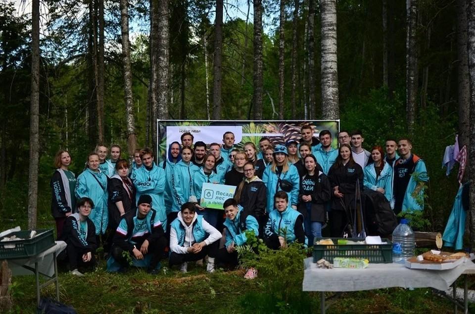 """""""Новые люди"""" посадили новый лес"""