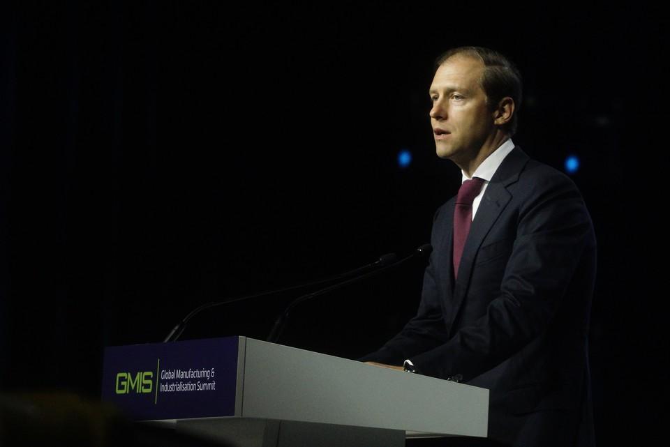 Мантуров: запасов антиковидной продукции в России хватит более, чем на три месяца