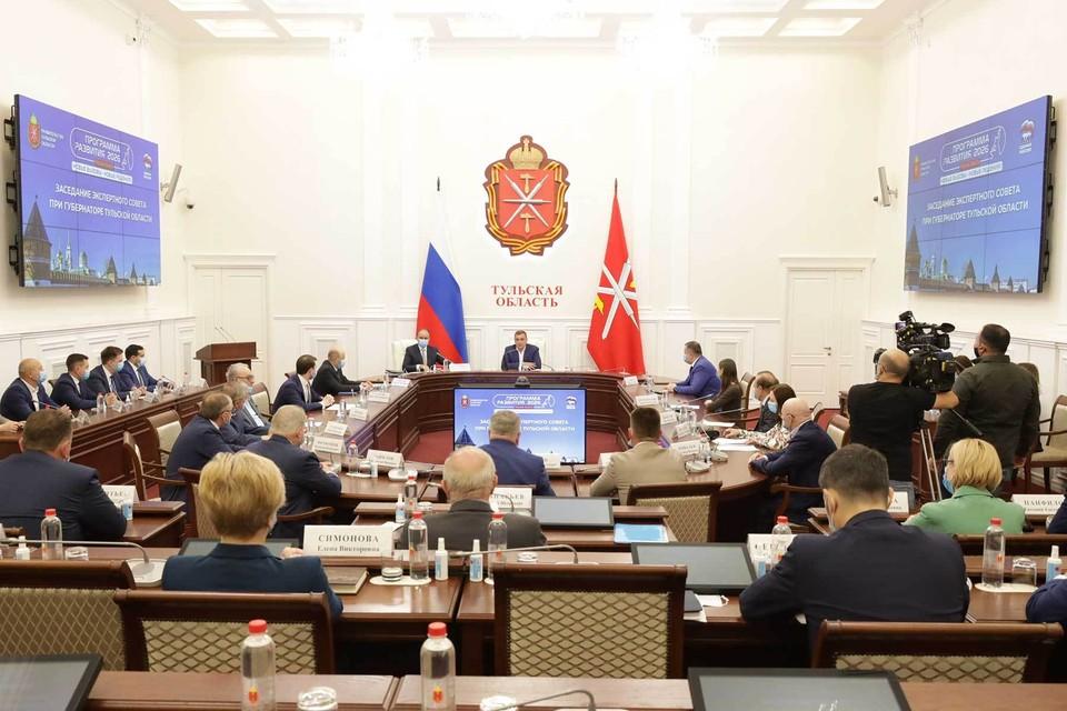 На заседании Экспертного совета при Губернаторе Тульской области озвучены лучшие народные инициативы.