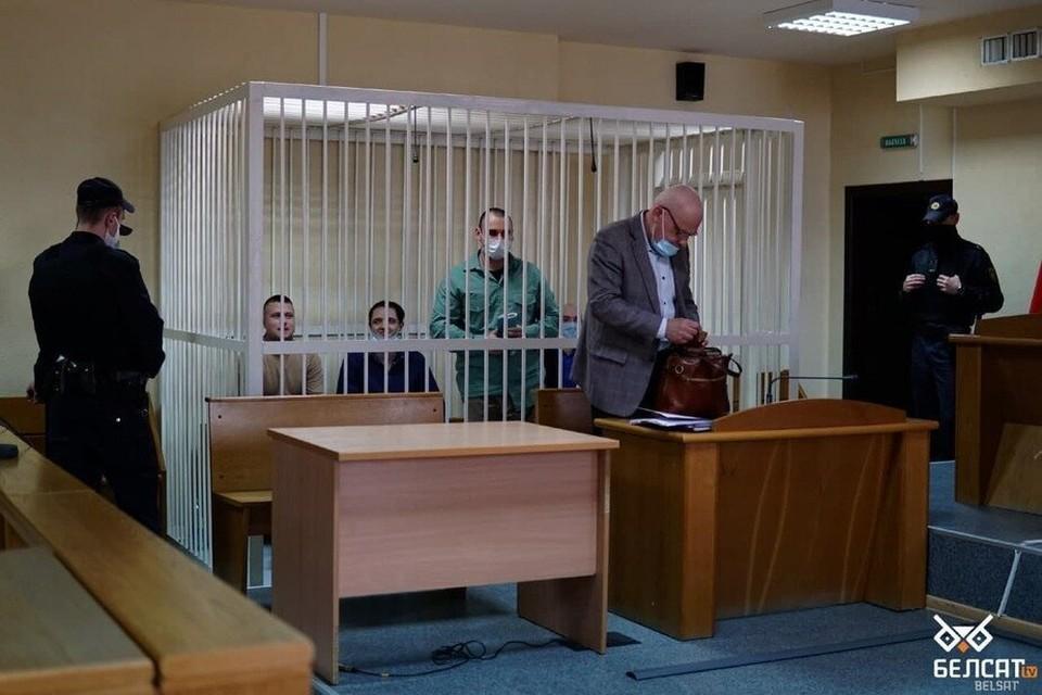 Волонтеров штаба Бабарико осудили на 5 лет. Фото: belsat.eu