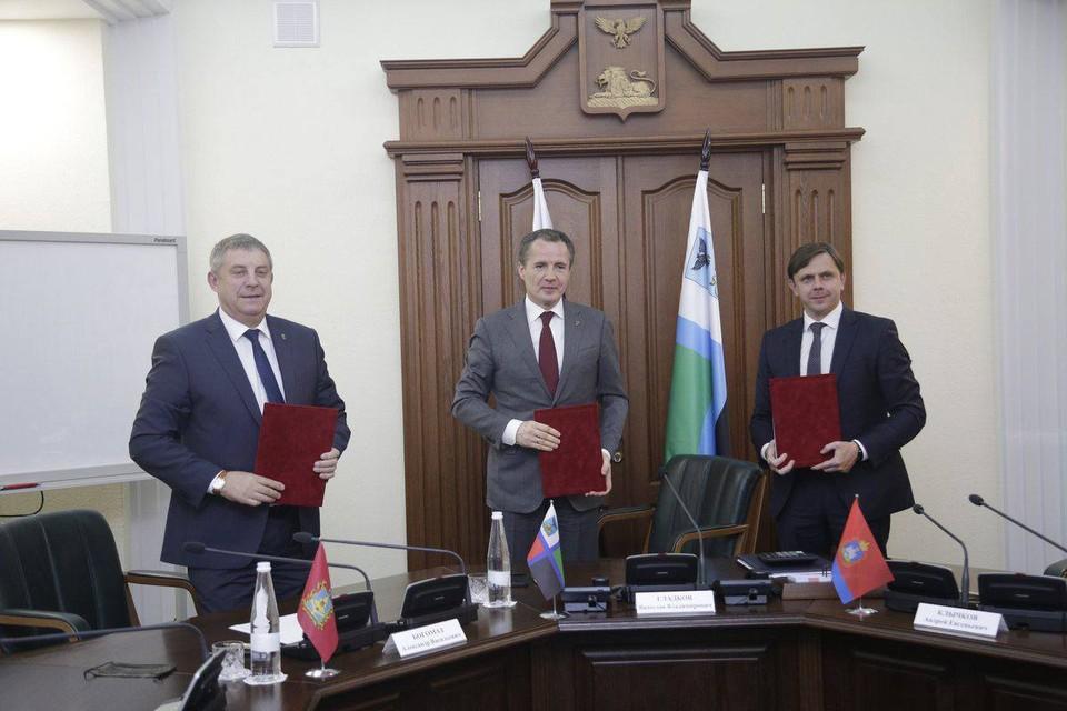 Белгородская, Курская, Калужская, Брянская и Орловская области будут сотрудничать вместе, развивая научную сферу и налаживая межрегиональные связи.