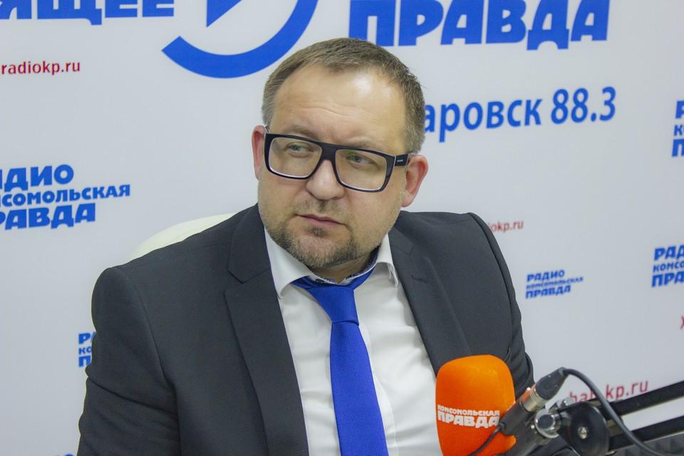 Дмитрий Ноженко, руководитель Регионального общественного движения ВЕРЮВХАБАРОВСК.РФ