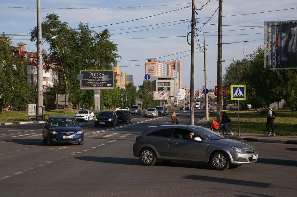 На 60% возросла пропускная способность Казанского шоссе в Нижнем Новгороде после выделения дополнительных полос