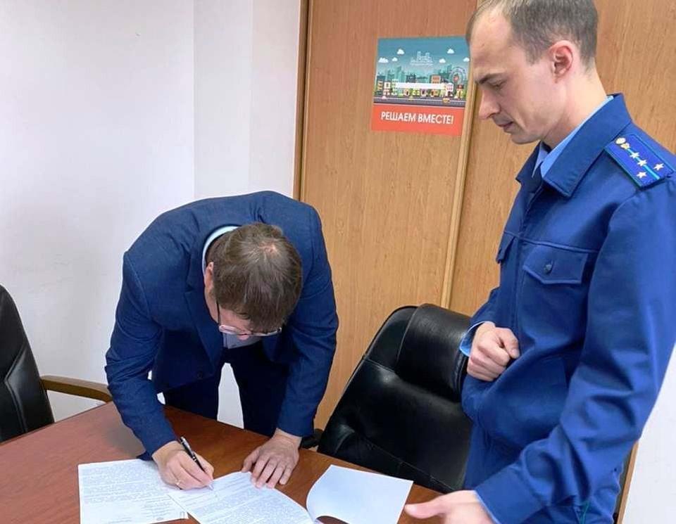 Замглаву Новокузнецка предупредила о возможном наказании прокуратура. Фото: Прокуратура Кемеровской области.