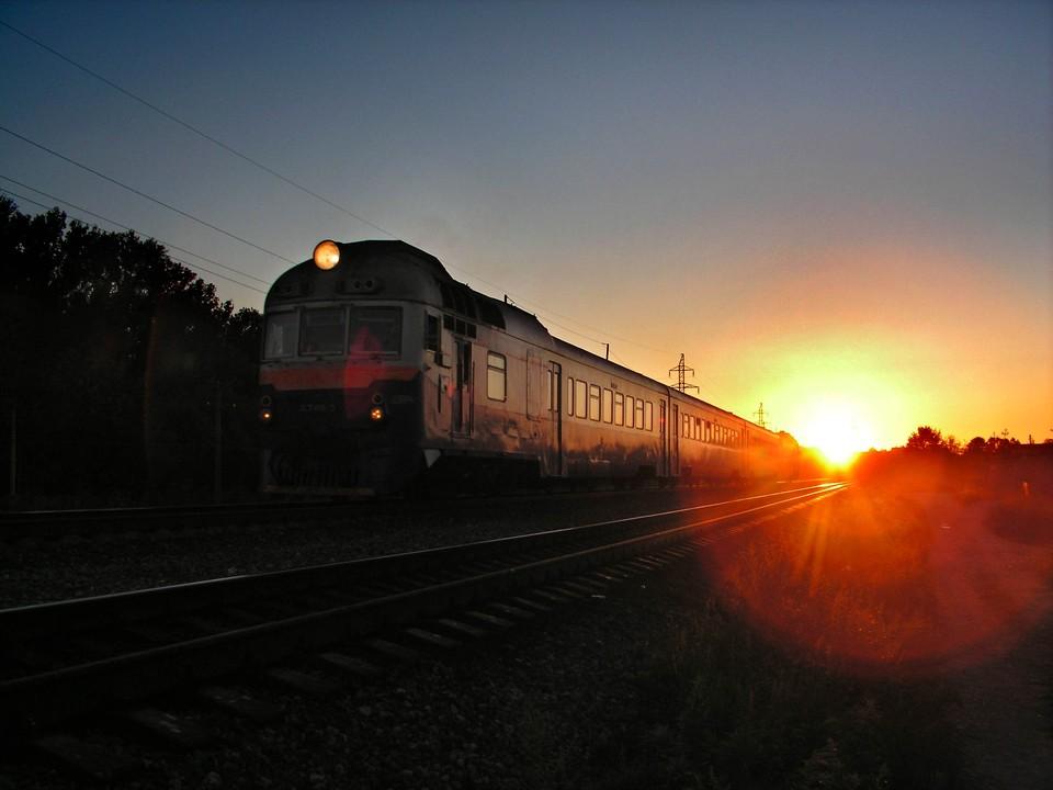 В Тульской области поезд сбил мужчину