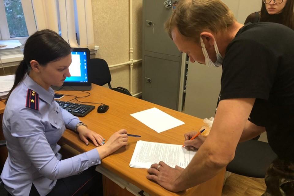 Мужчину задержали, он дал признательные показания. Фото: kirov.sledcom.ru