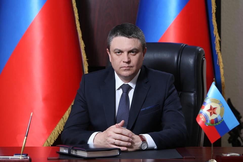 Леонид Пасечник заявил, что провокация может привести к эскалации ситуации на линии соприкосновения. Фото: АГ ЛНР