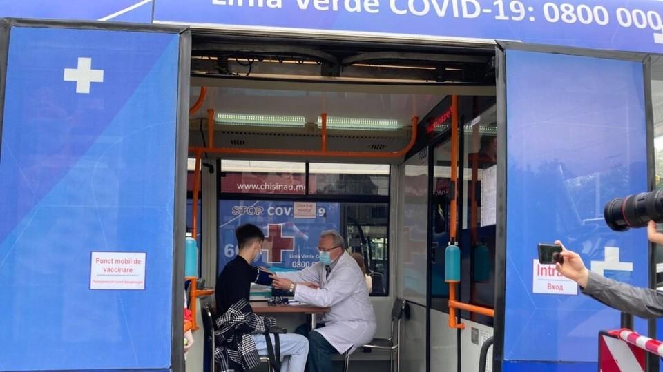 Мобильные пункты вакцинации ждут вас! Фото: соцсети