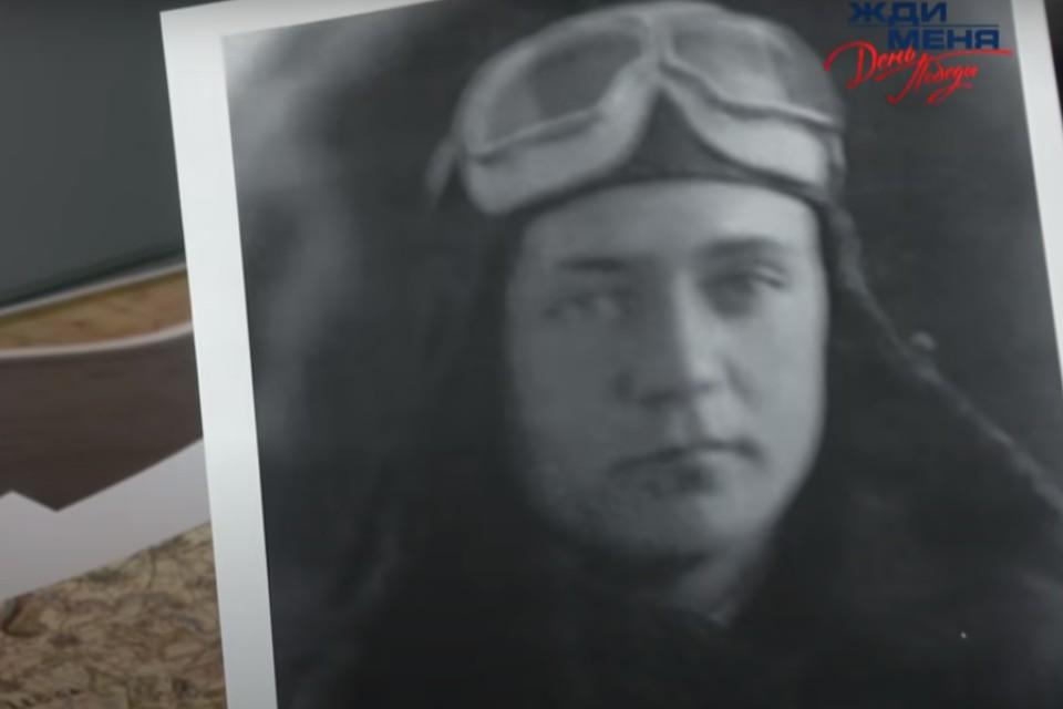 Лётчик 521-го истребительного авиационного полка Борис Сулоев. Фото: телепрограмма «Жди меня», телеканал НТВ