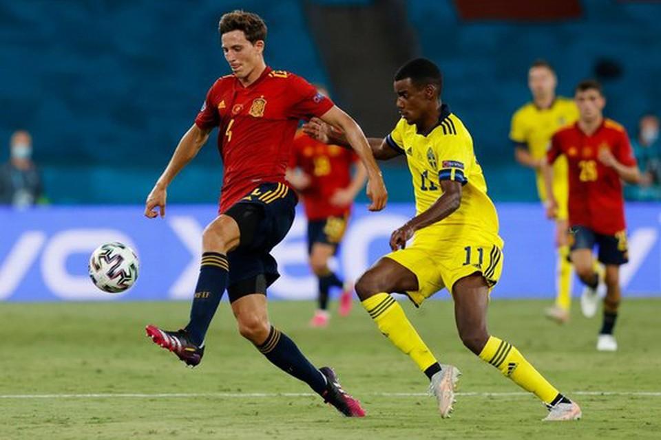 Сборная Испании сыграла в нулевую ничью с национальной командой Швеции.
