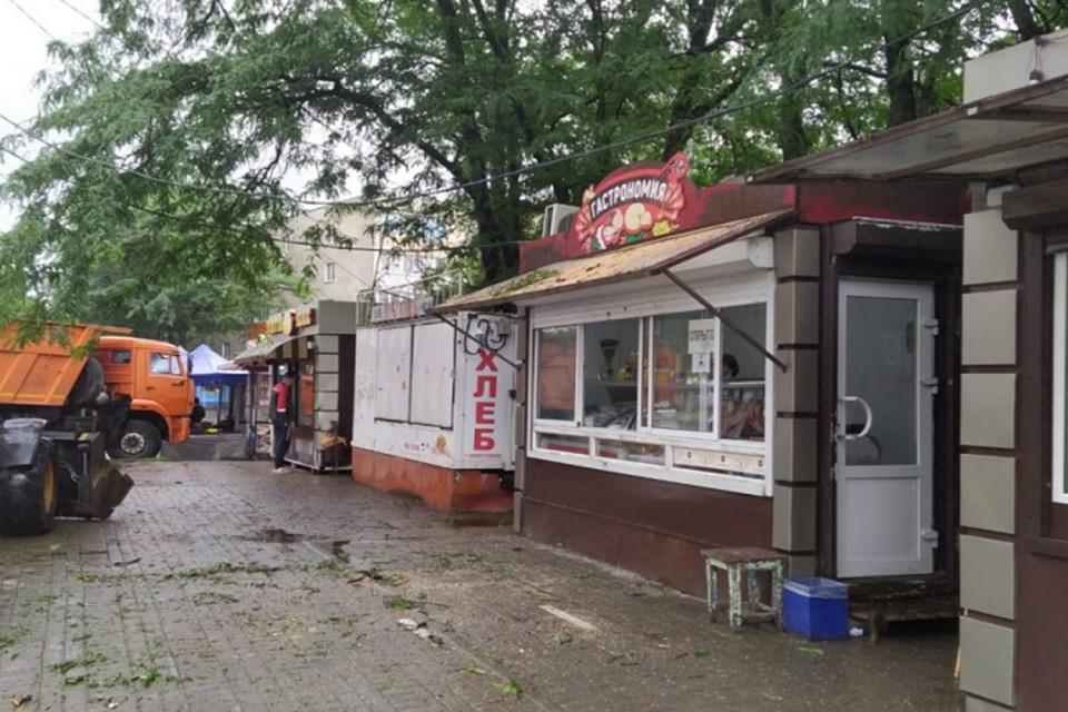 Всего по городу произошло свыше 100 ЧП Фото: сайт администрации Ростова