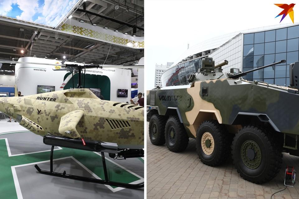 Топ-8 новинок на выставке вооружений MILEX-2021: первый белорусский БТР, беспилотный вертолет-охотник и новинки, мимо которых вы прошли бы мимо.