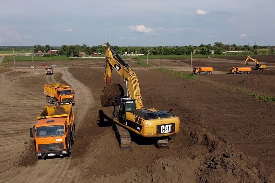 Первые 45 га территории планируют открыть для торговли уже в октябре. Фото: сайт правительства РО