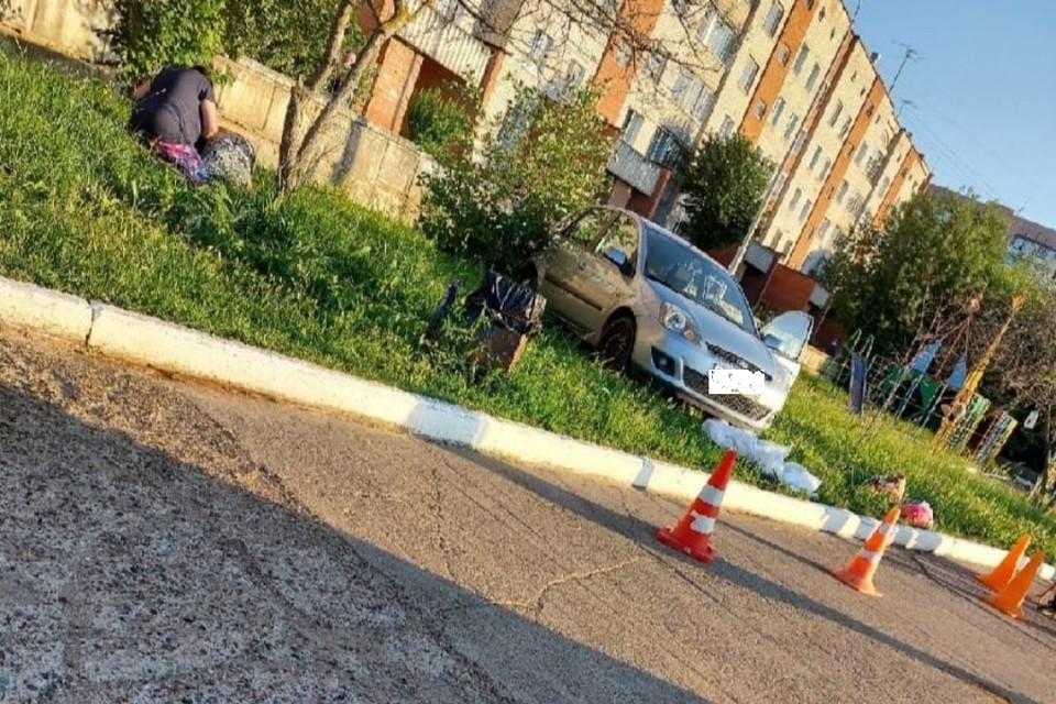Авария произошла в 18.45 на улице 60 лет Октября. Фото: vk.com/zlo_chepetsk