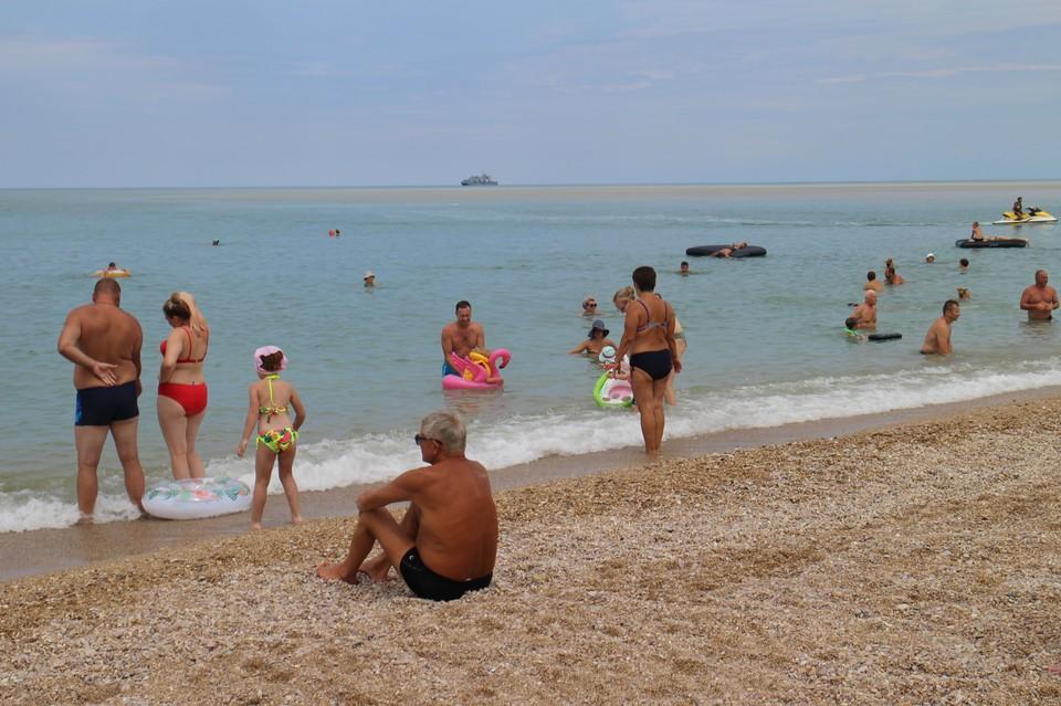 Температура воды в Черном море +21…+24°