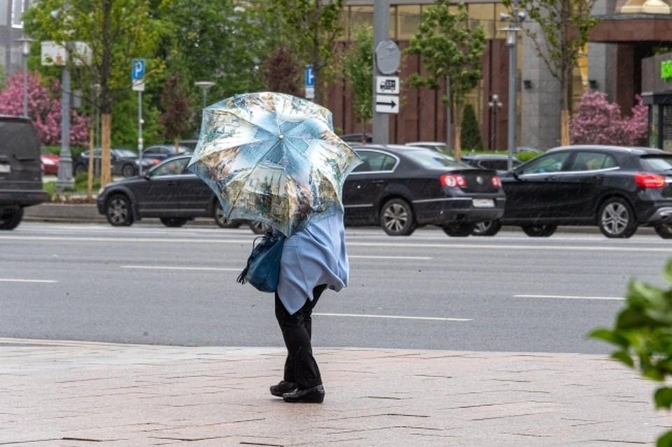 Южноуральцев попросили соблюдать осторожность при шквалистом ветре