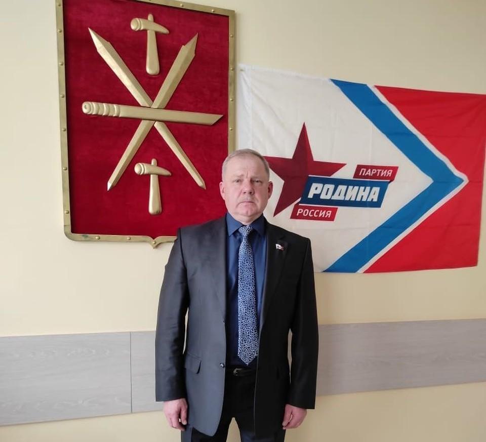 Председатель регионального отделения партии «Родина» в Тульской области Владимир Ивашкевич.
