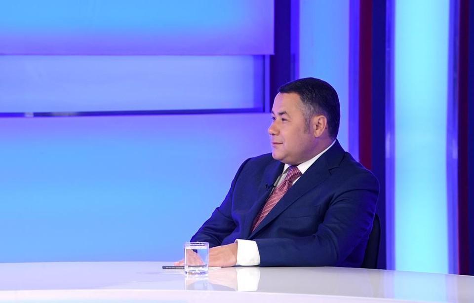 Губернатор Игорь Руденя подтвердил в прямом эфире, что ускорит строительство детской областной больницы в Твери.