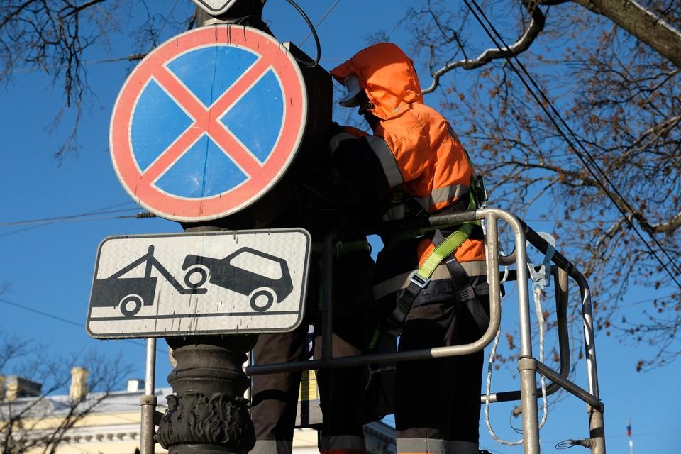 Более 2000 нарушений правил парковки выявили в Петербурге за первые 10 дней работы в рамках новых полномочий
