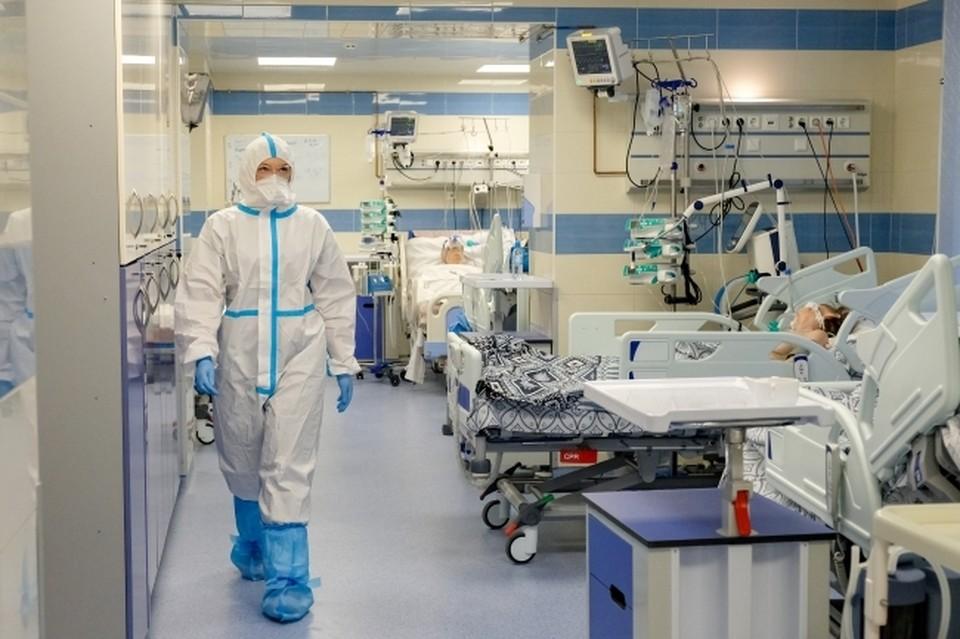 . В больницах и стационарах с COVID-19 и пневмониями лечатся 1 340 человек