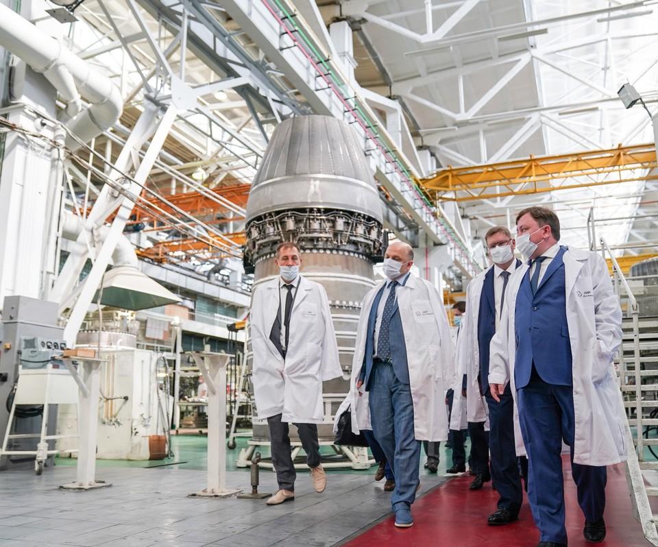 Встреча с руководителями ПАО «Газпром» состоялась на площадке самарского предприятия