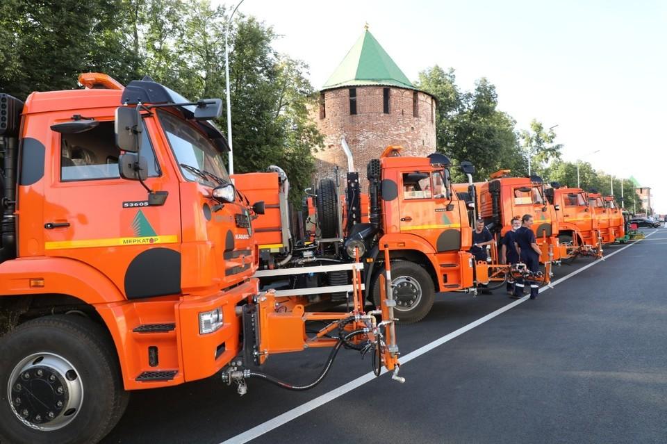 30 единиц новой техники получили муниципальные предприятия в Нижнем Новгороде Фото: пресс-служба правительства Нижегородской области